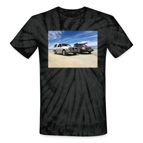 Subaru off roading - Unisex Tie Dye T-Shirt