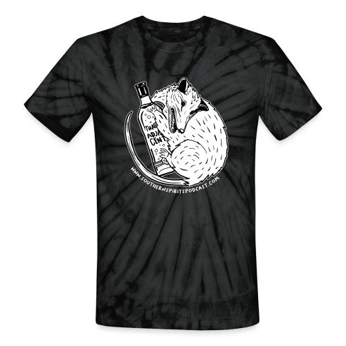 Patreon Possum - Unisex Tie Dye T-Shirt