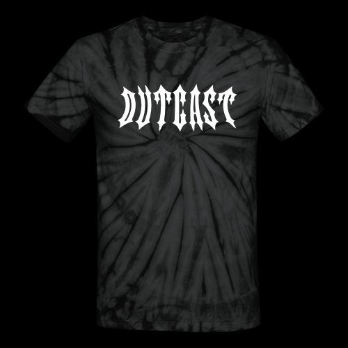 outcast logo - Unisex Tie Dye T-Shirt