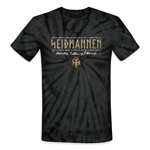SEIÐMANNEN - Heathenry, Magic & Folktales - Unisex Tie Dye T-Shirt
