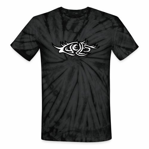 Cycles Heavy Metal Logo - Unisex Tie Dye T-Shirt