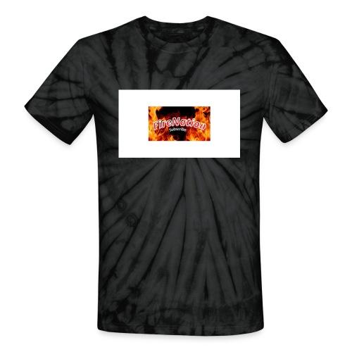 FireNation - Unisex Tie Dye T-Shirt