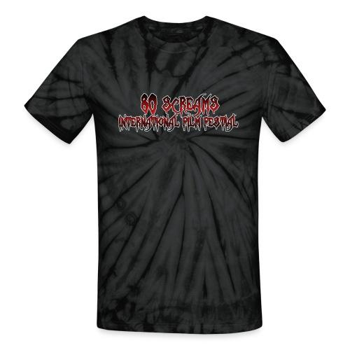 80 Screams International Film Festival - Unisex Tie Dye T-Shirt