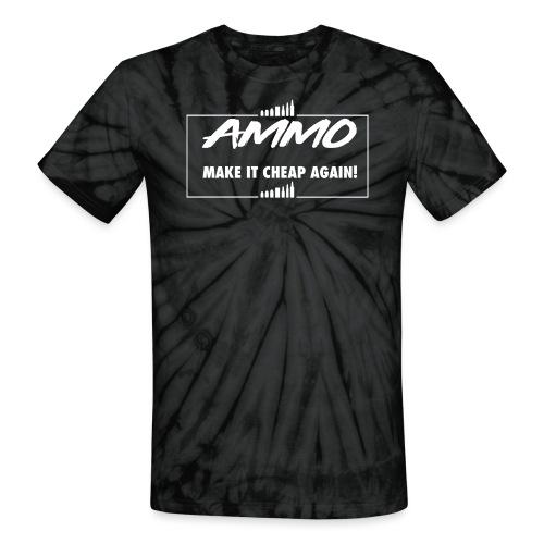 AMMO - Unisex Tie Dye T-Shirt