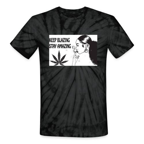 Keepblazin - Unisex Tie Dye T-Shirt