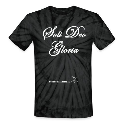 Soli Deo Gloria - T-shirt tie-dye pour hommes et femmes