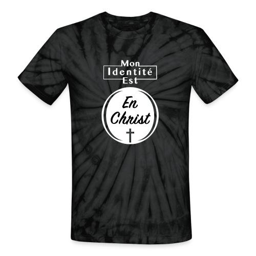 Mon Identité est En Christ - T-shirt tie-dye pour hommes et femmes