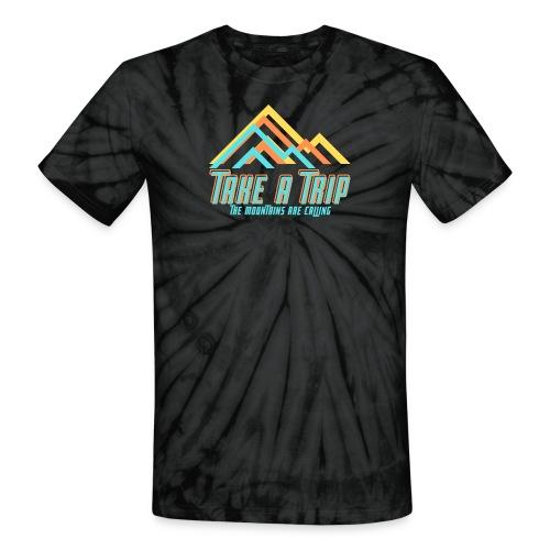 Take a trip - Unisex Tie Dye T-Shirt