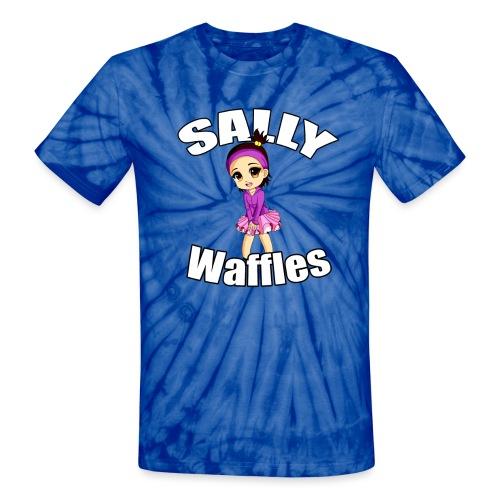 Sally Waffles - Unisex Tie Dye T-Shirt
