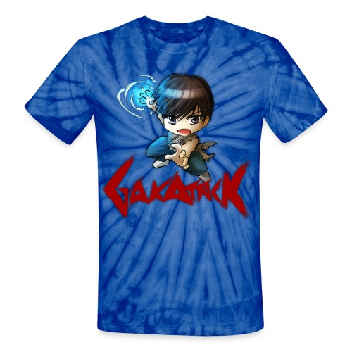 dbz gakattack optimized - Unisex Tie Dye T-Shirt