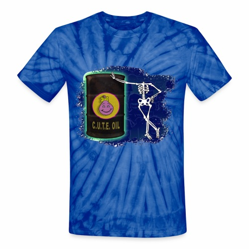 Black Toxic Barrel - Unisex Tie Dye T-Shirt