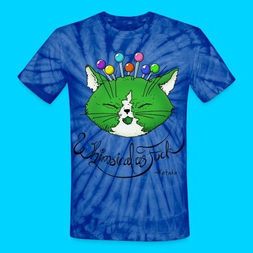 Fantastic Contraption I (uncensored) - Unisex Tie Dye T-Shirt