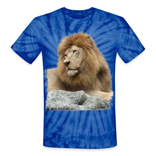 Lion Cutout - Unisex Tie Dye T-Shirt