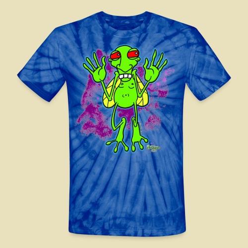 Ongher's UFO Bugg'd - Unisex Tie Dye T-Shirt