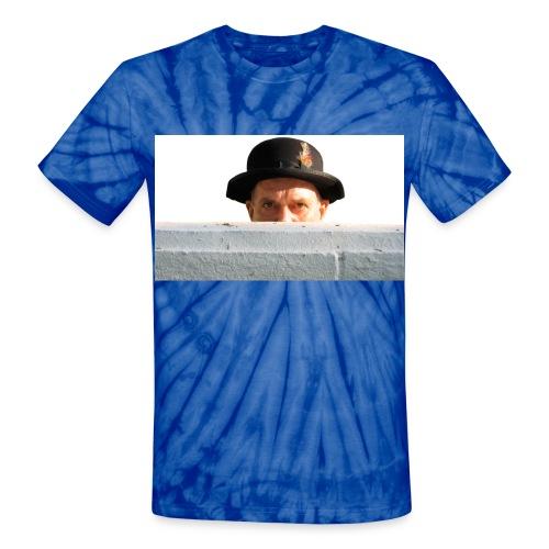head wall - Unisex Tie Dye T-Shirt