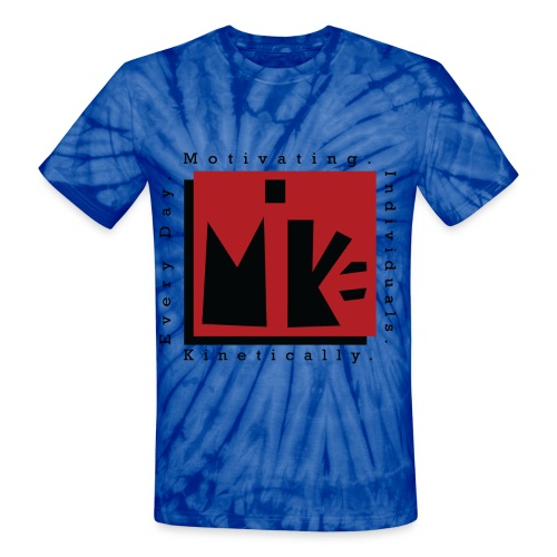 Mike knockout png - Unisex Tie Dye T-Shirt