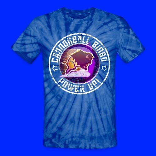 Vintage Stampede Power-Up Tee - Unisex Tie Dye T-Shirt