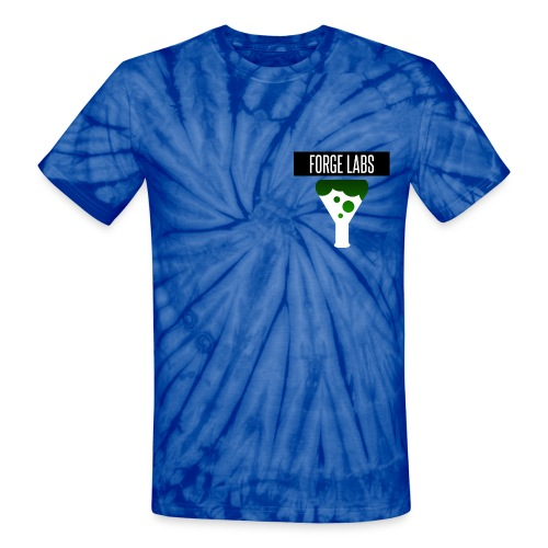 Forge Labs Upside down png - Unisex Tie Dye T-Shirt