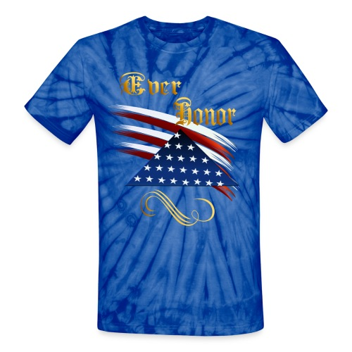 Ever Honor - Unisex Tie Dye T-Shirt