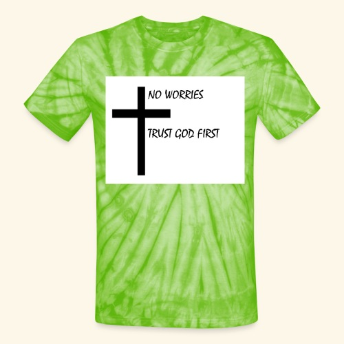 No Worries - Unisex Tie Dye T-Shirt
