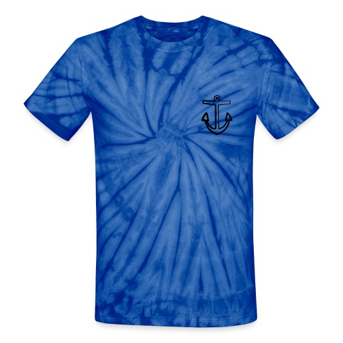 Anchor - Unisex Tie Dye T-Shirt