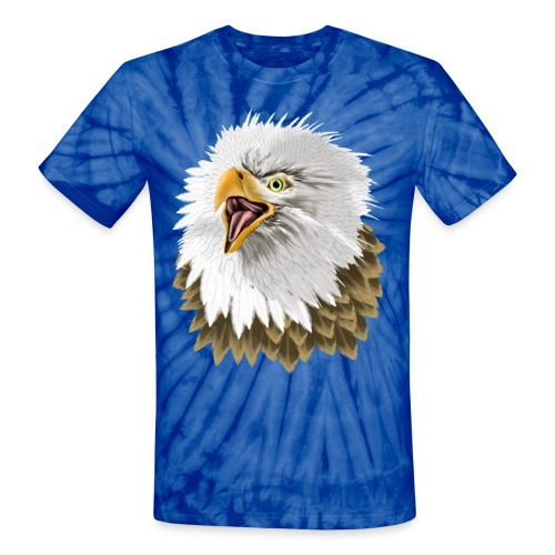 Big, Bold Eagle - Unisex Tie Dye T-Shirt