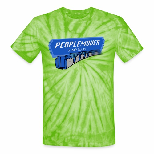 Peoplemover TMR - Unisex Tie Dye T-Shirt