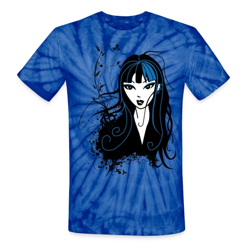 Sexy Mika the Punk Girl Unisex T-Shirt - Unisex Tie Dye T-Shirt