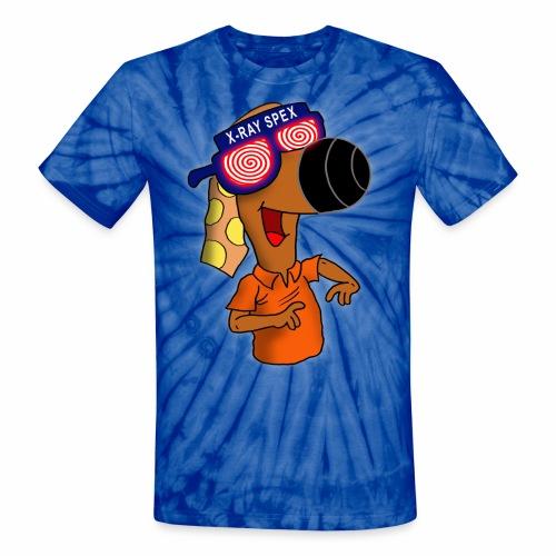 Randog Xray Spex - Unisex Tie Dye T-Shirt