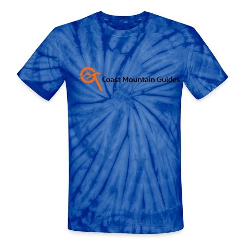 cmg logo horiz cmyk - Unisex Tie Dye T-Shirt