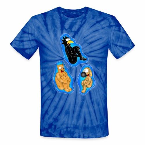 Blobs - Unisex Tie Dye T-Shirt
