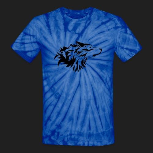 wolfelogo0 png - Unisex Tie Dye T-Shirt