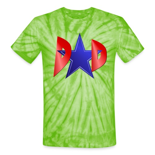 Blue Star Dad - Unisex Tie Dye T-Shirt