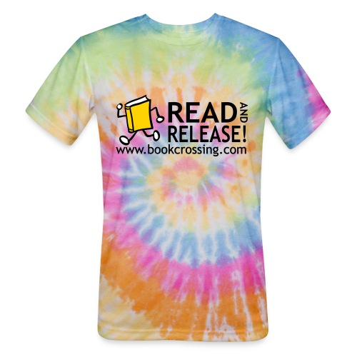 bookcrossingballycumberreadandrelease3co - Unisex Tie Dye T-Shirt