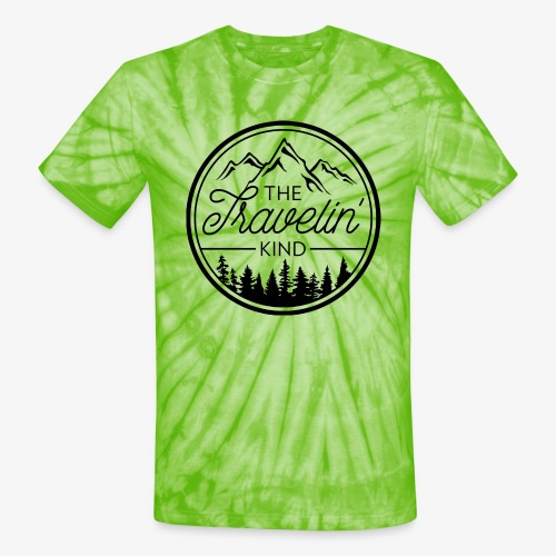 The Travelin Kind - Unisex Tie Dye T-Shirt