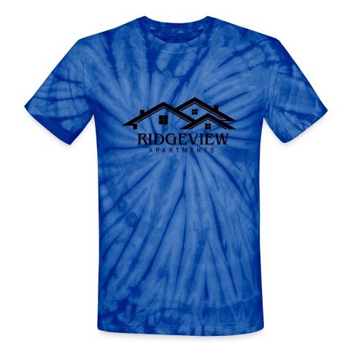 Ridgeview Apartments - Unisex Tie Dye T-Shirt