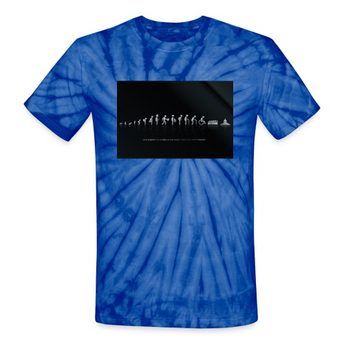 DIFFERENT STAGES OF HUMAN - Unisex Tie Dye T-Shirt
