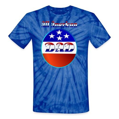 All American Dad - Unisex Tie Dye T-Shirt
