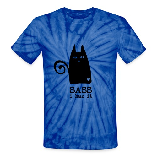 maddie cat shirt - Unisex Tie Dye T-Shirt