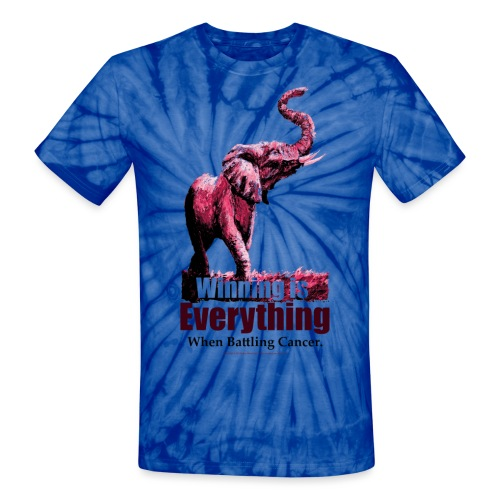 Winning is Everything_Can - Unisex Tie Dye T-Shirt