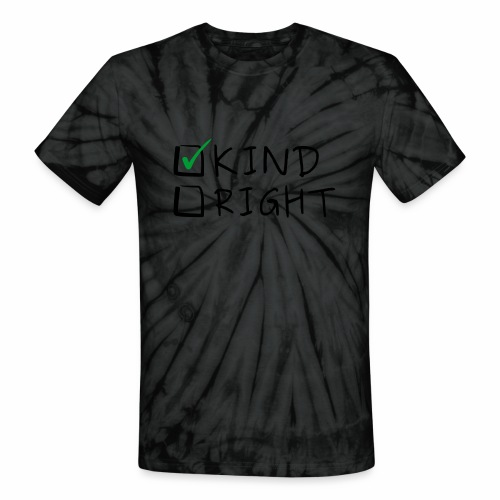 Choose Kind Anti-Bullying - Unisex Tie Dye T-Shirt