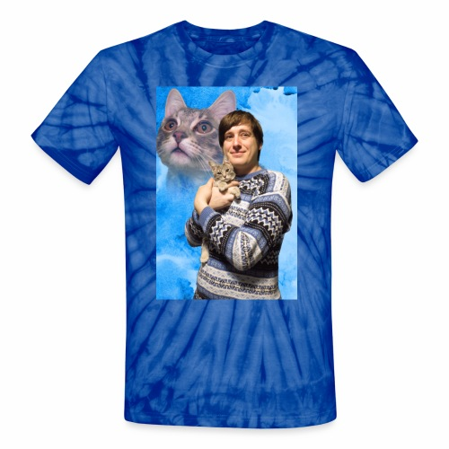 cat jpg - Unisex Tie Dye T-Shirt