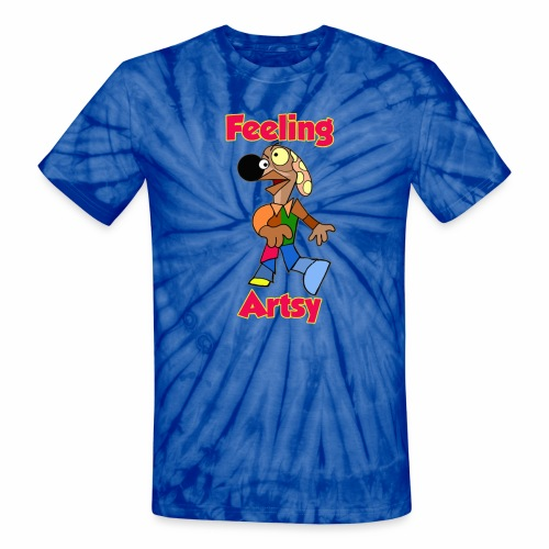 Artsy - Unisex Tie Dye T-Shirt