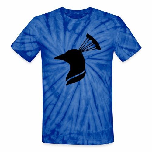 peacock head - Unisex Tie Dye T-Shirt