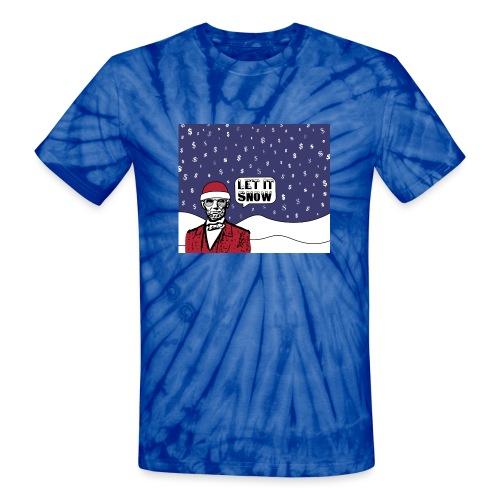 Let It Snow - Unisex Tie Dye T-Shirt
