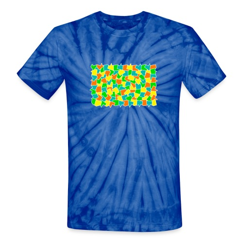 Dynamic movement - Unisex Tie Dye T-Shirt