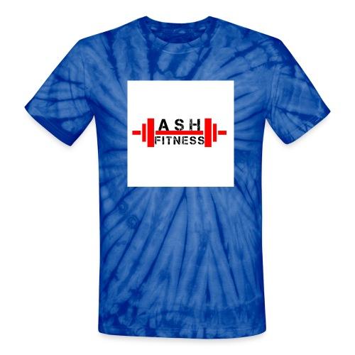 ASH FITNESS MUSCLE ACCESSORIES - Unisex Tie Dye T-Shirt