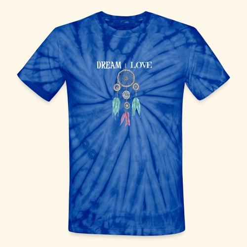 Dream Love DreamCatcher - Unisex Tie Dye T-Shirt