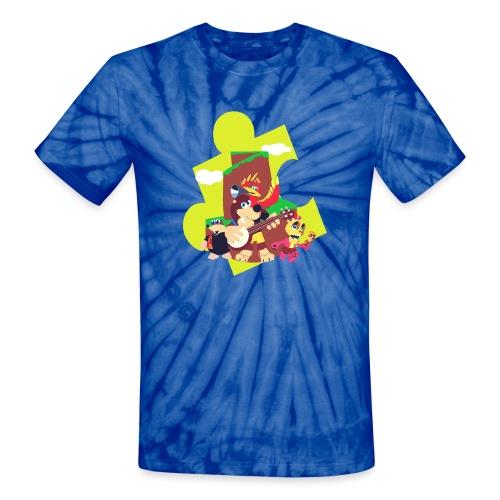 banjo - Unisex Tie Dye T-Shirt