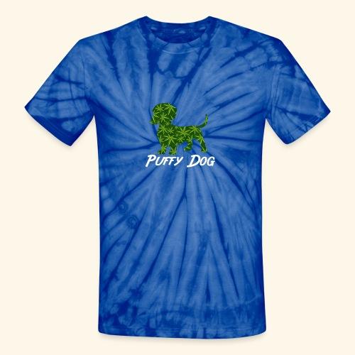 PUFFY DOG - PRESENT FOR SMOKING DOGLOVER - Unisex Tie Dye T-Shirt